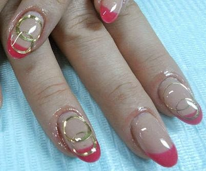 Cute Nail Art Design for Wedding