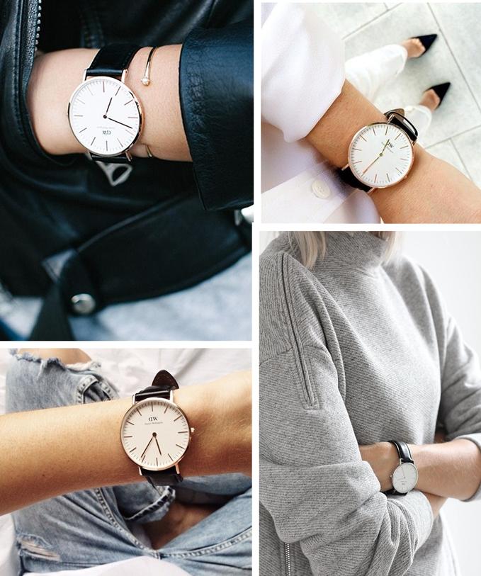 christmas gift, new years gift, daniel wellington wrist watch