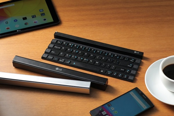 LG Rolly Keyboard (KBB-700) introduced