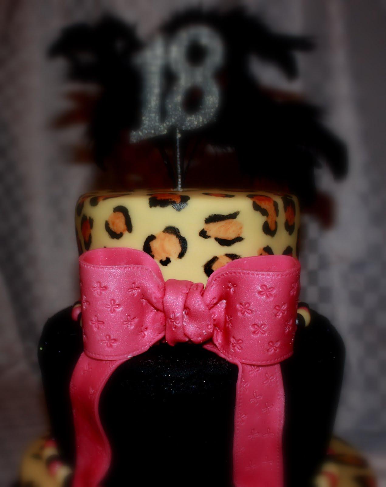 Leopard Skin Cake