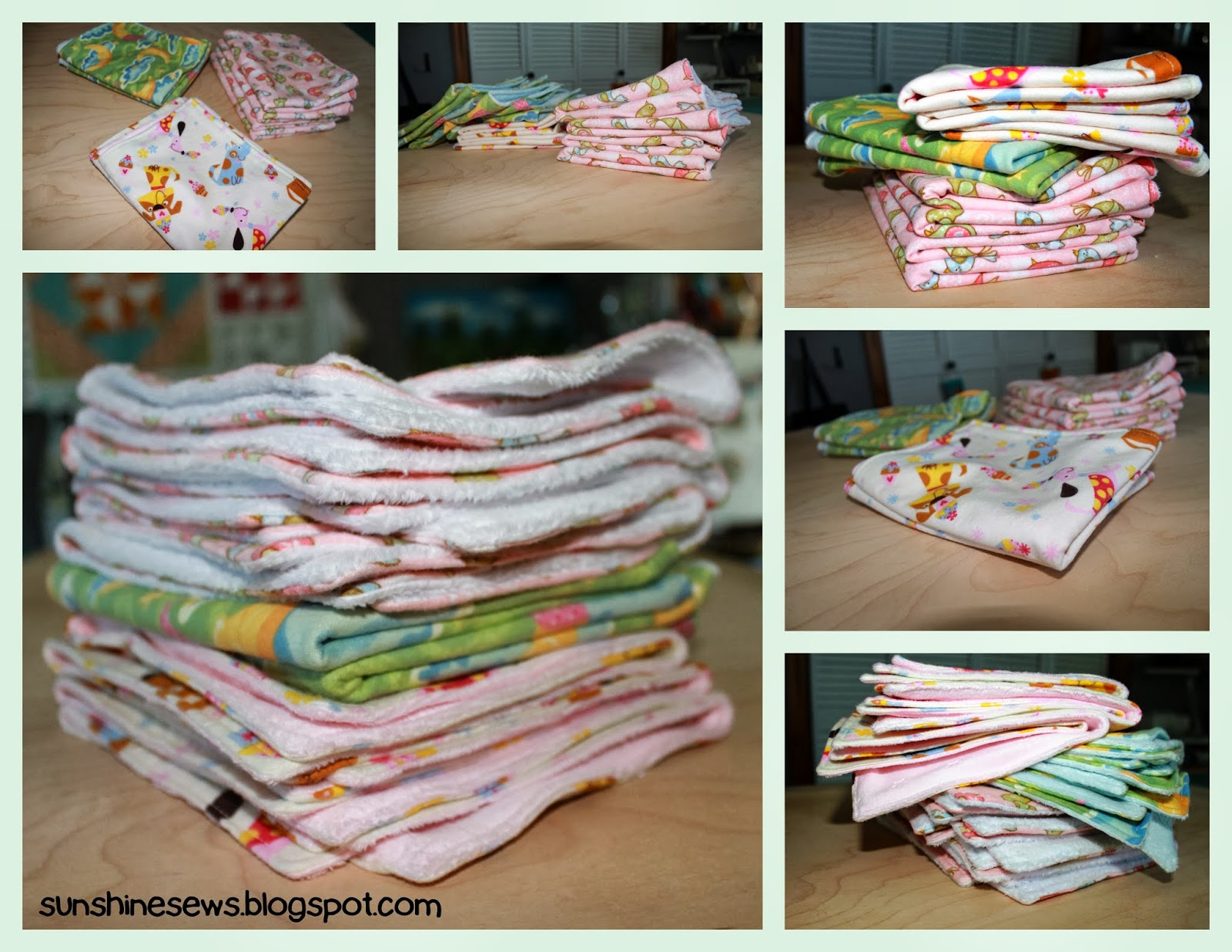 Sunshine sews baby burp cloths baby burp cloths baditri Image collections