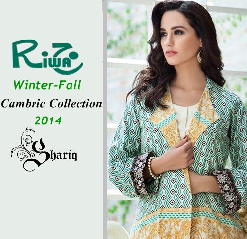 Riwaj Cambric Winter 2014/15 by Shariq