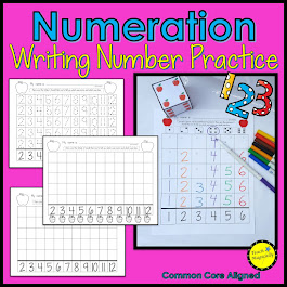 Number Writing Apples
