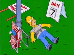 Homero Idealista, Homero se manifiestam Homero Flaco