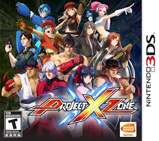 Project X Zone Box Art