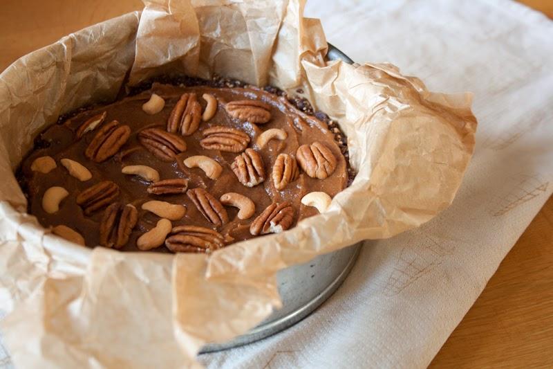 chocolade-notentaart op NFM