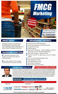 FMCG Marketing Course in Sri Lanka
