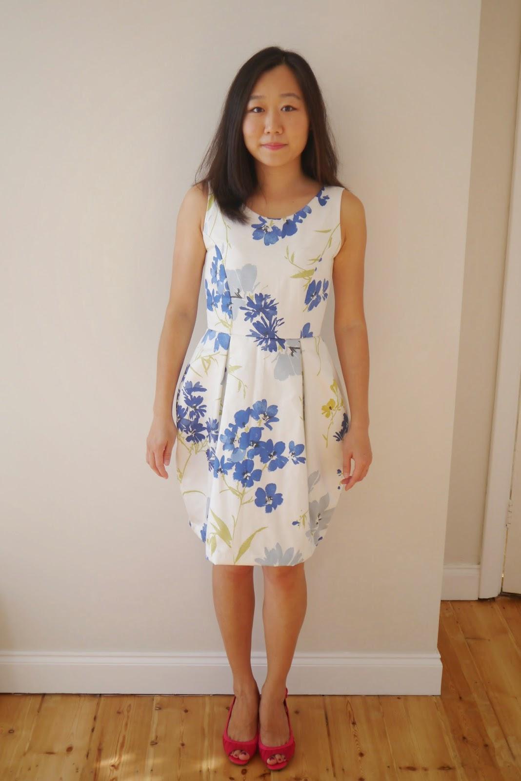 Queen of darts floral elisalex wedding guest dress for Floral wedding guest dresses