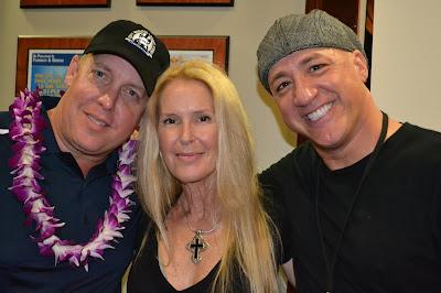 Scott Medlock, Lita Ford, Mark Eddie, St. Jude's Fundraiser