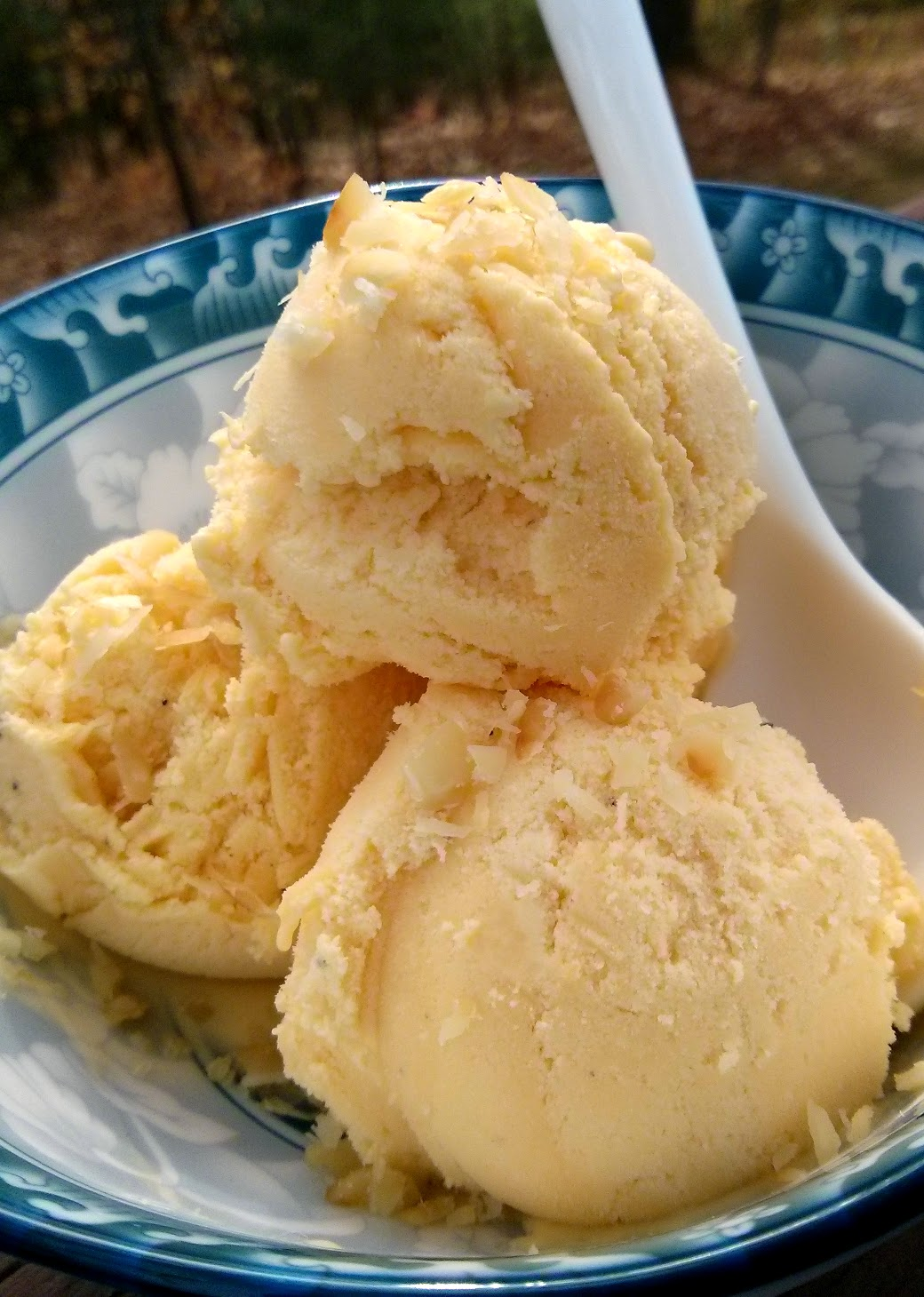 Thanh's Kitchen: Home-Made Passion Fruit Ice Cream (makes ...