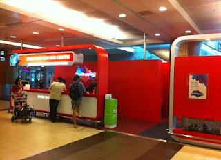 alamat Singapore Visitors Centres