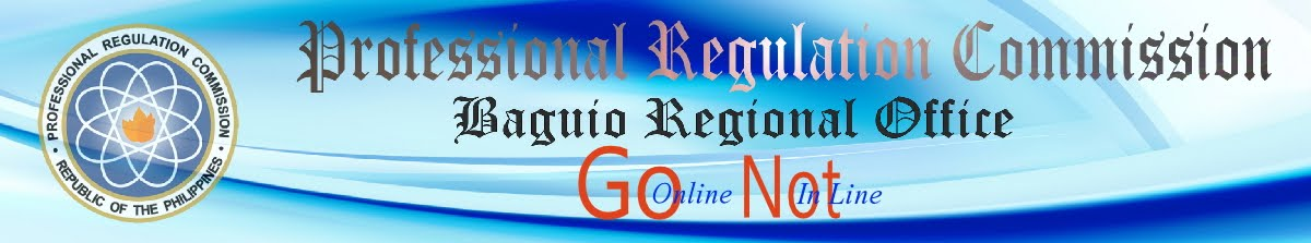 PRC Baguio Information Site