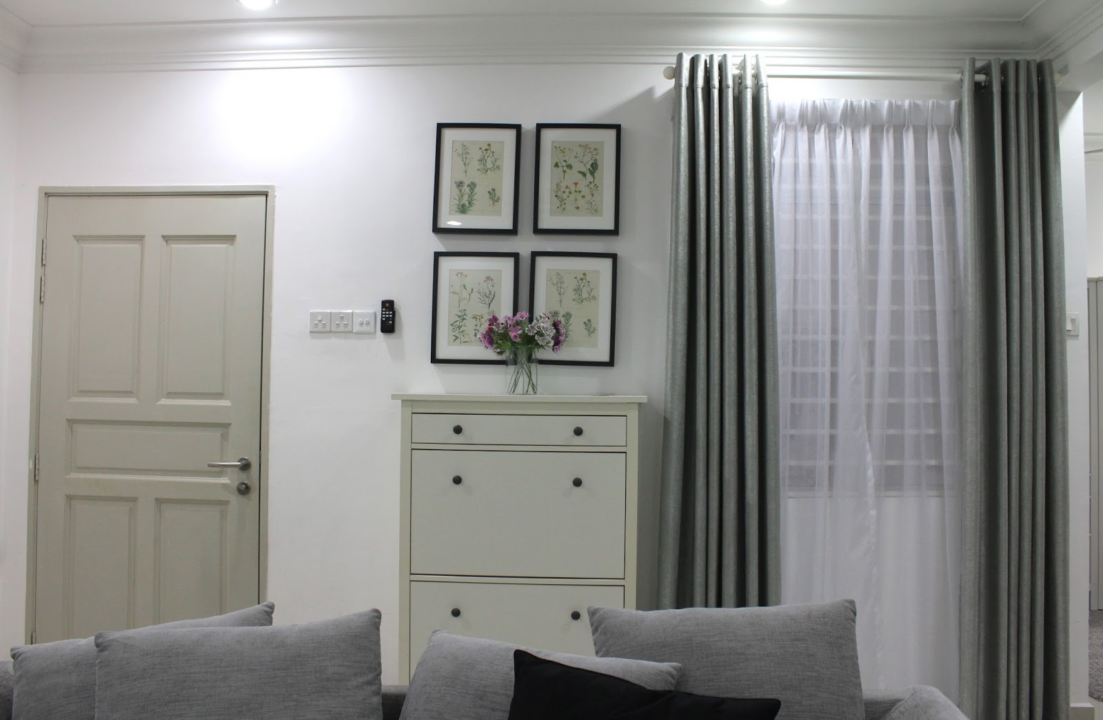 Deco Ikea dedans road to there: namsy loves deco : projek langsir