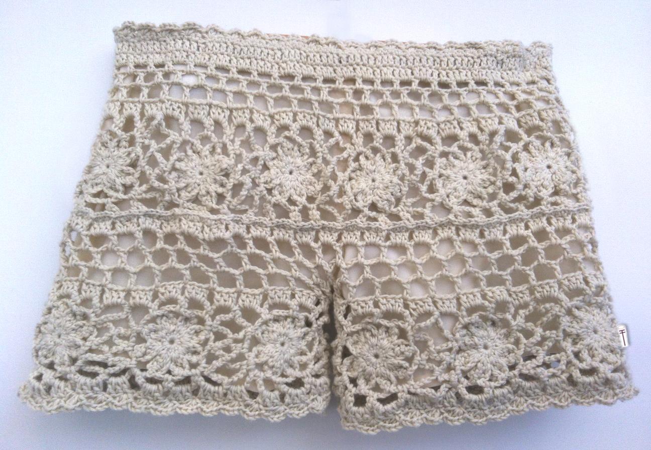 Asombroso Patrón De Los Pantalones Del Ganchillo Colección de ...