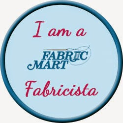 I am a blogger for Fabric Mart!