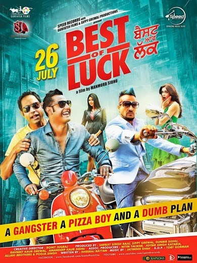 Watch Best Of Luck (2013) Punjabi Full Hindi Movie DVDRip Watch Online For Free Download
