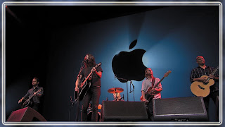 Foo Fighters At Apple iPhone 5 Launching Wallpapers