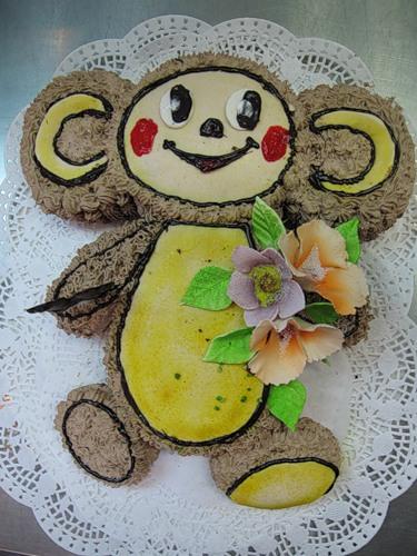 Торт к празднику детский торт мишка и