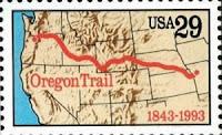 stamp of oregon trail