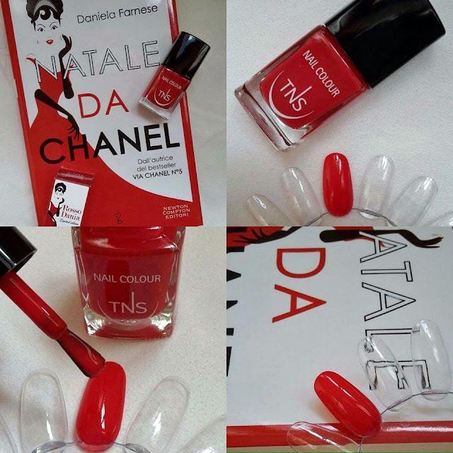 Natale da Chanel, Daniela Farnese | TNS Cosmetics Rosso Dania