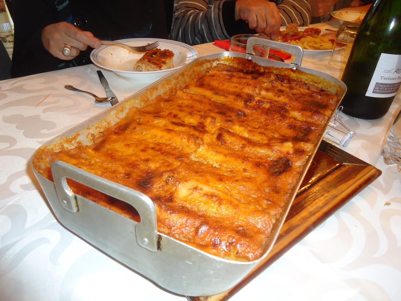 Cocina para todo recetas navide as canelones caseros - Cocina para todos ...