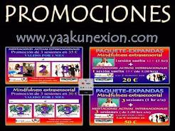 MINDFULNESS EXTRASENSORIAL 19:00 a 20:00 hrs y MEDITACIONES ACTIVAS INTERNACIONALES 20:00 a 21:30h