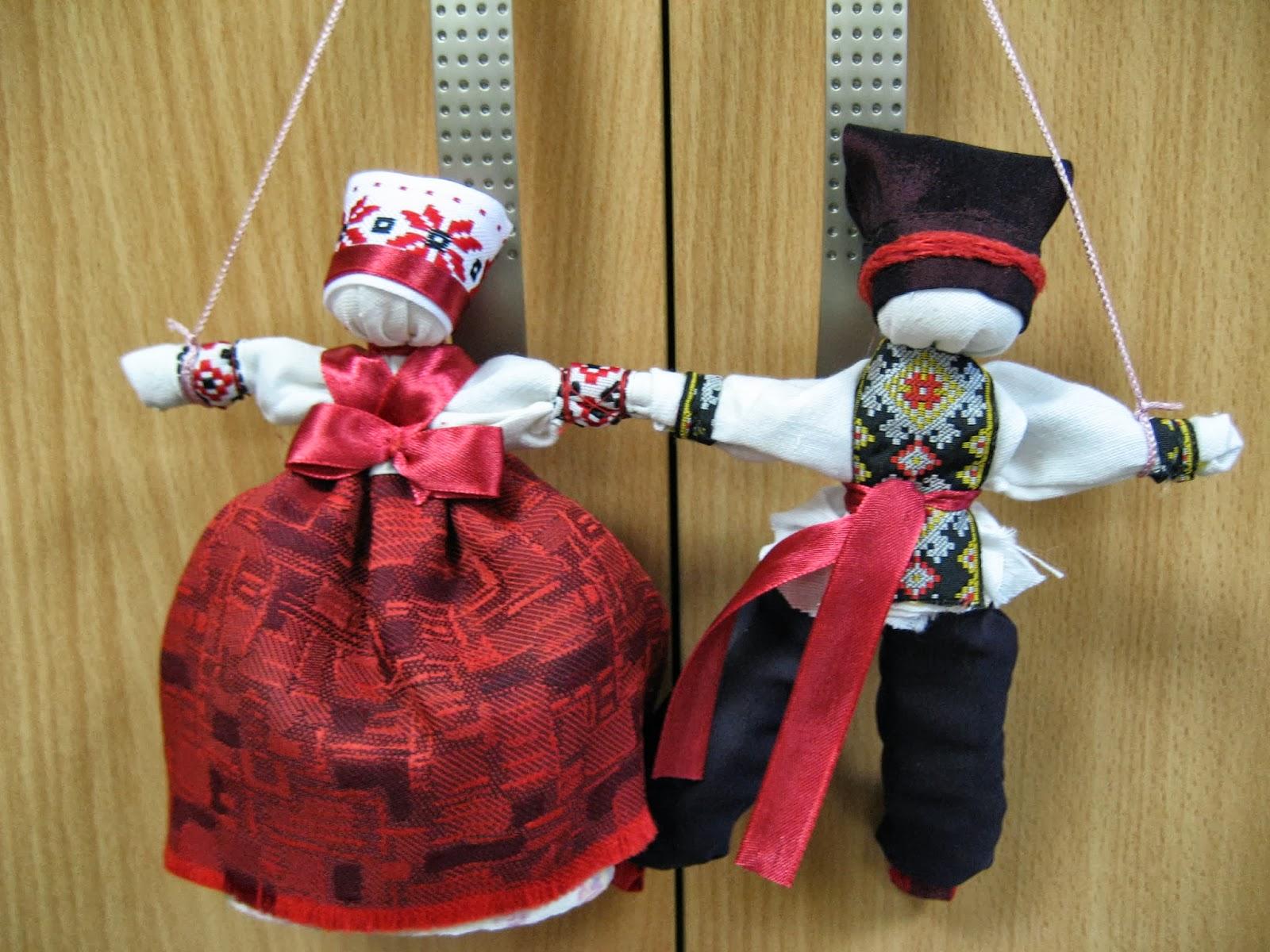 Неразлучники. Народная кукла из ткани, мастер-класс / Умелые 100
