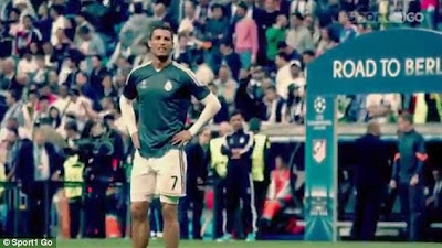 Cristiano Ronaldo Shows His Passionate Side During Training At Santiago Bernabeu….Hear What Happened + See Photos