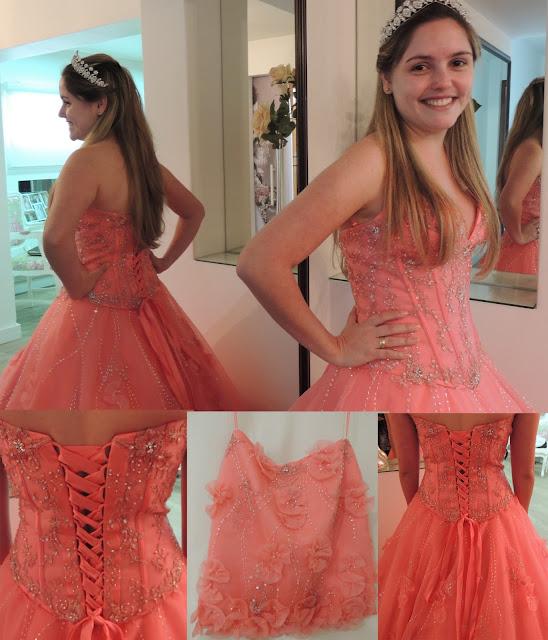 Esse Vestido Tem Uma Mini Saia Para A Debutante Curtir Balada