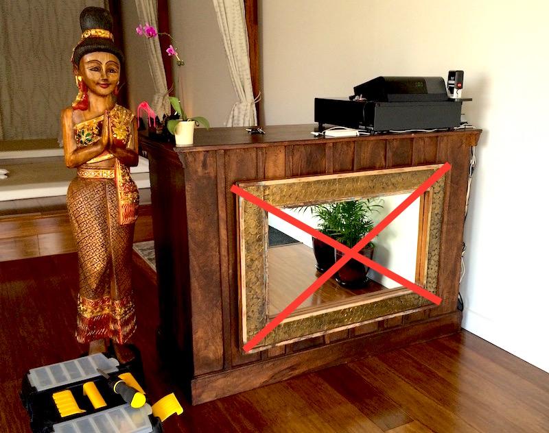 Bahn siam thai massage feng shui 101 mirror placement - Feng shui mirror placement ...