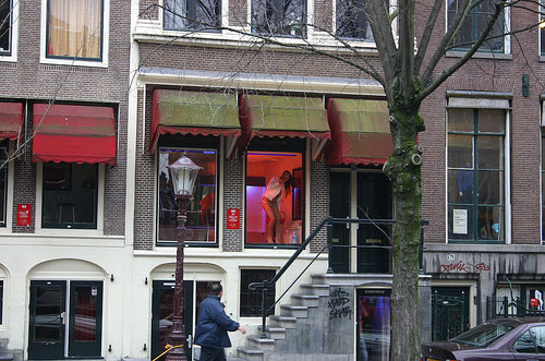 Amsterdam Red Light District Photo by J Swann