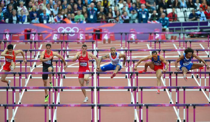Atletismo atletismo - Tipos de vallas ...