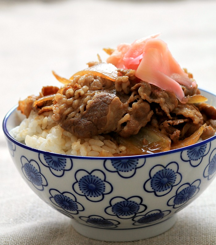 Gyudon (Japanese Beef Bowl) Recipe — Dishmaps