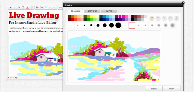 Как рисовать в viprin's drawing editor