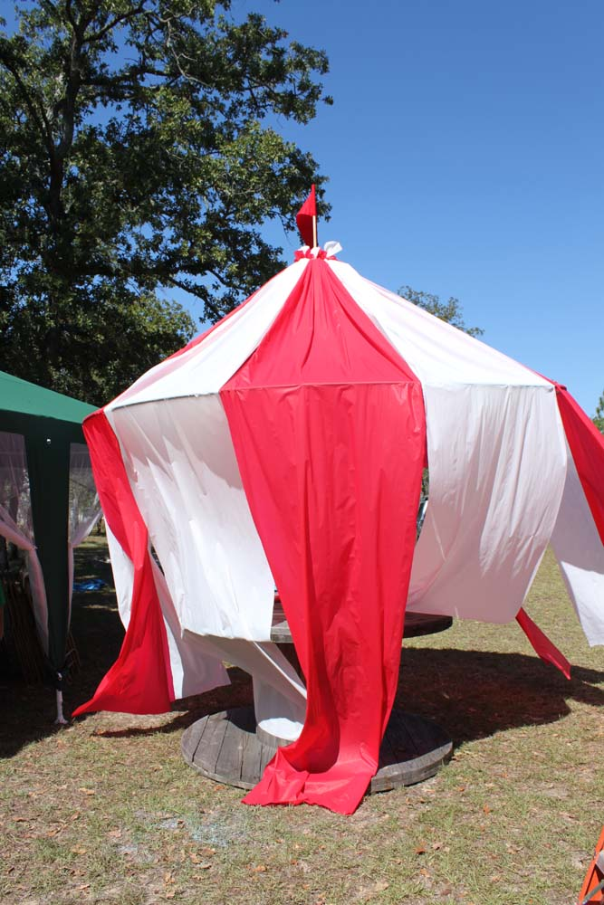 DIY Carnival Party Big Top Tent & DIY Carnival Party Big Top Tent - Southern Revivals