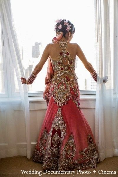 Indian Bridal Reception Gowns