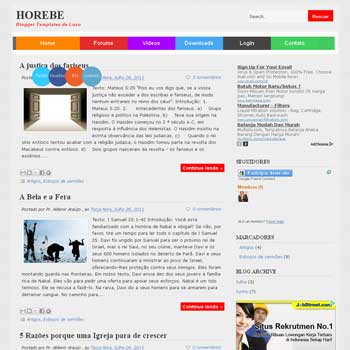 Horebe Blogger Template
