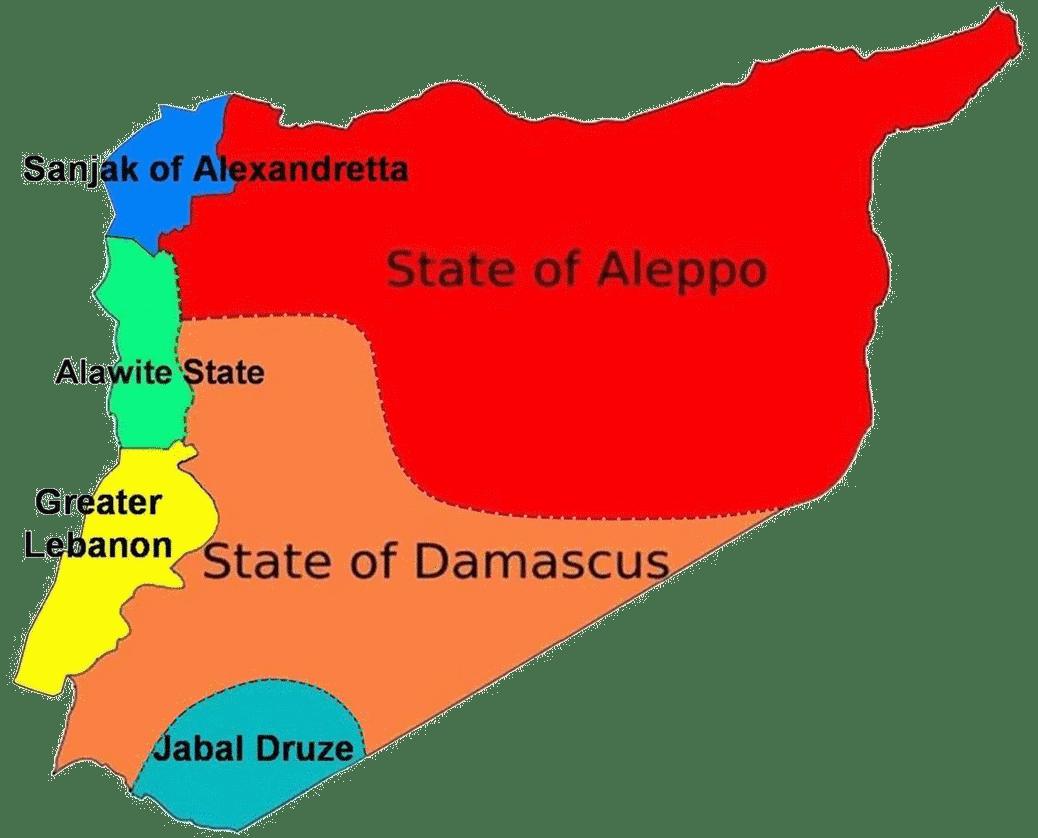 Syria Interactive Map - Syria interactive map