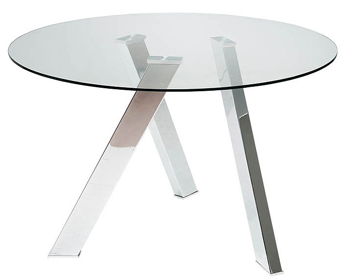Mesas de comedor por la decoradora experta mesas redondas - Mesa comedor redonda cristal ...