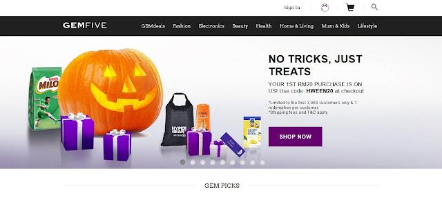 GEMFIVE homepage