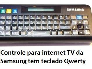 Controle para internet TV da Samsung