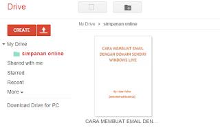 sinkronisasi+google+drive Tips Tutorial Cara Install dan Menggunakan Google Drive
