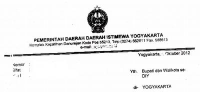 Kop Surat Dinas