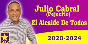 JULIO CABRAL (PEJECITO) ALCALDE 2020-2024