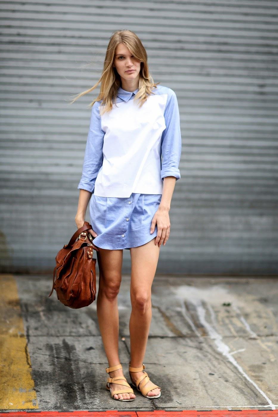 model street style new york fashion week springsummer