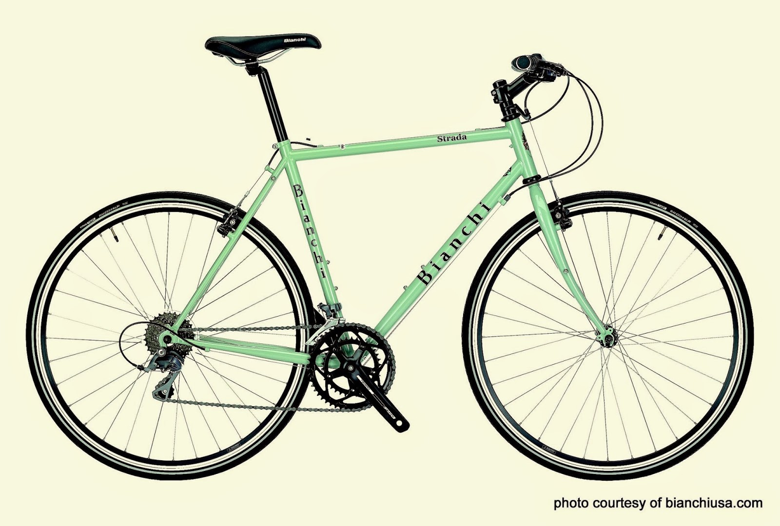 bianchi strada, commuter, gravel, cyclocross, touring, trekking, adventure