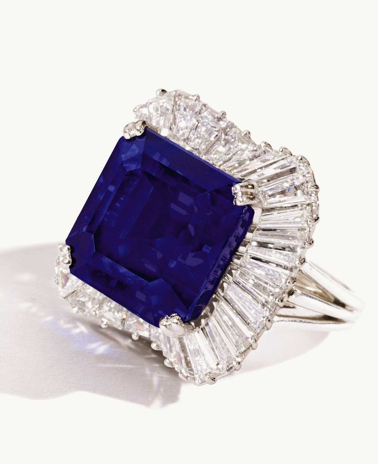 2818 Carat Sapphire Ring Sold For Rm on oscar heyman rings