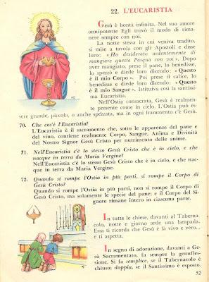Libretto dottrina Eucarestia