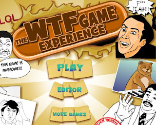 The WTF Game Experience awesome and funny puzzle online games free play