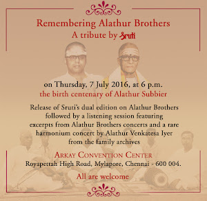 Remembering Alathur Brothers